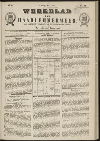 Weekblad van Haarlemmermeer 1876-04-14