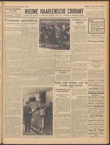 Nieuwe Haarlemsche Courant 1939-04-12