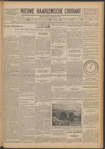 Nieuwe Haarlemsche Courant 1930-01-22