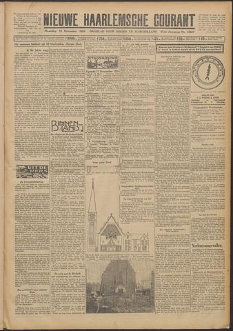 Nieuwe Haarlemsche Courant 1924-11-10