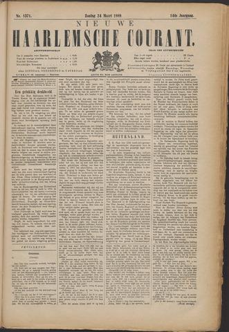 Nieuwe Haarlemsche Courant 1889-03-24