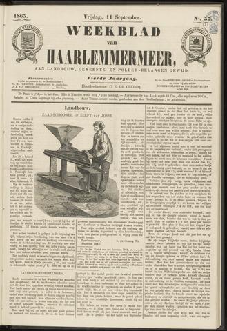 Weekblad van Haarlemmermeer 1863-09-11