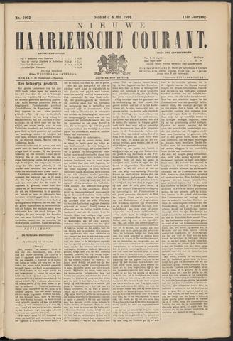 Nieuwe Haarlemsche Courant 1886-05-06