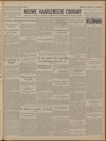 Nieuwe Haarlemsche Courant 1940-10-16