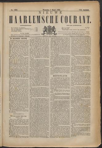 Nieuwe Haarlemsche Courant 1892-03-02