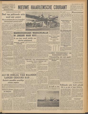 Nieuwe Haarlemsche Courant 1947-09-25