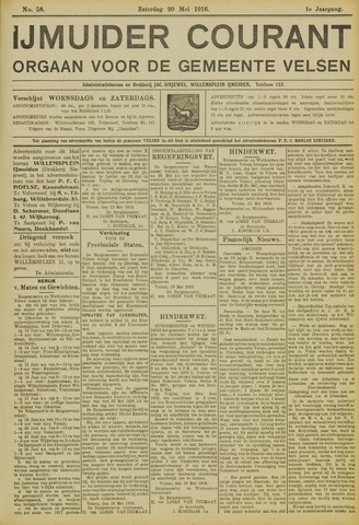 IJmuider Courant 1916-05-20
