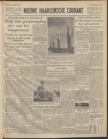 Nieuwe Haarlemsche Courant 1957-08-01