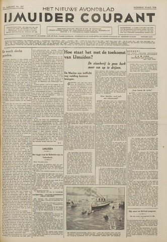 IJmuider Courant 1938-08-10
