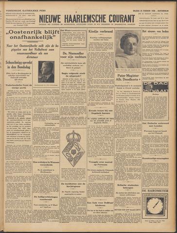 Nieuwe Haarlemsche Courant 1938-02-25