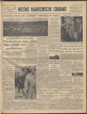 Nieuwe Haarlemsche Courant 1957-09-26