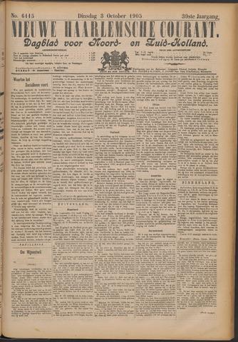 Nieuwe Haarlemsche Courant 1905-10-03