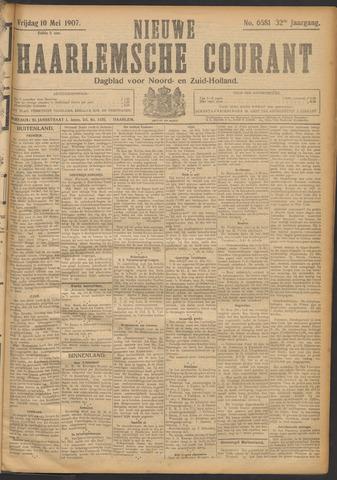 Nieuwe Haarlemsche Courant 1907-05-10