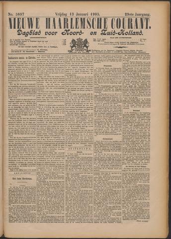 Nieuwe Haarlemsche Courant 1905-01-13
