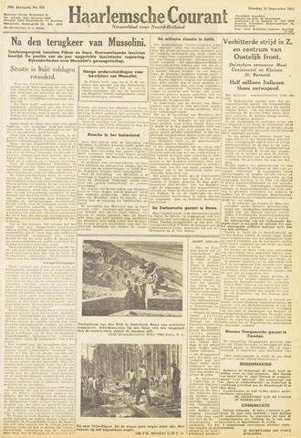 Haarlemsche Courant 1943-09-14