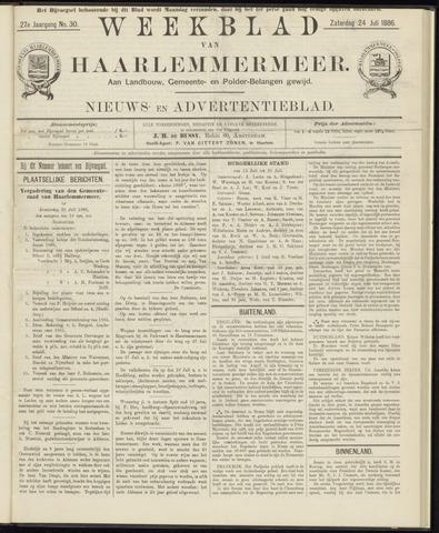 Weekblad van Haarlemmermeer 1886-07-24