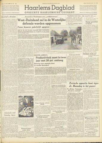 Haarlem's Dagblad 1951-09-14