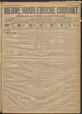 Nieuwe Haarlemsche Courant 1911-09-28
