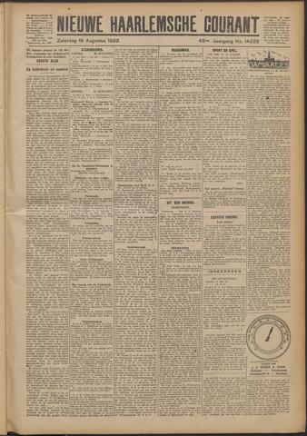 Nieuwe Haarlemsche Courant 1922-08-19