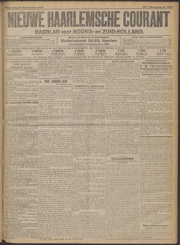 Nieuwe Haarlemsche Courant 1915-09-27