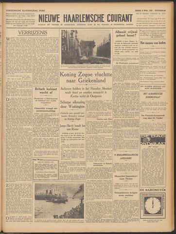 Nieuwe Haarlemsche Courant 1939-04-09