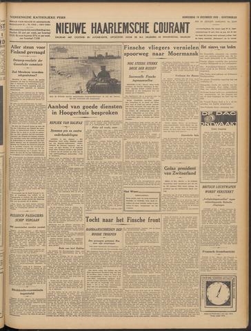 Nieuwe Haarlemsche Courant 1939-12-14