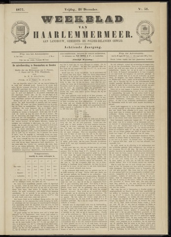 Weekblad van Haarlemmermeer 1877-12-21