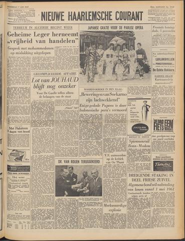 Nieuwe Haarlemsche Courant 1962-06-07