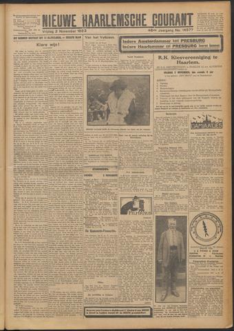 Nieuwe Haarlemsche Courant 1923-11-02
