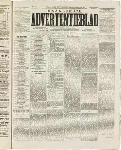 Haarlemsch Advertentieblad 1882-03-01