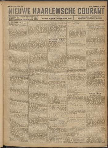Nieuwe Haarlemsche Courant 1921-01-07