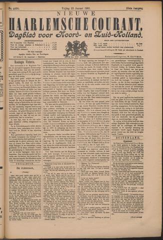 Nieuwe Haarlemsche Courant 1901-01-25