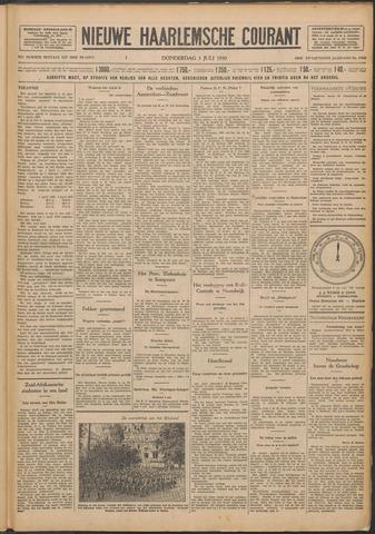 Nieuwe Haarlemsche Courant 1930-07-03