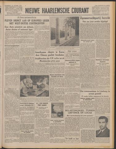 Nieuwe Haarlemsche Courant 1950-10-25