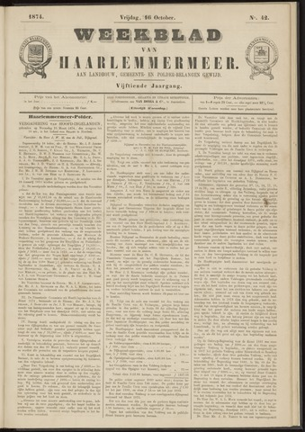 Weekblad van Haarlemmermeer 1874-10-16