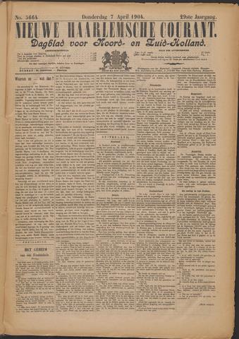 Nieuwe Haarlemsche Courant 1904-04-07