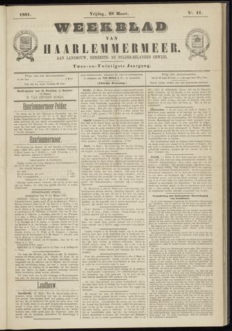 Weekblad van Haarlemmermeer 1881-03-18