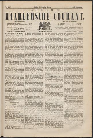 Nieuwe Haarlemsche Courant 1885-10-25