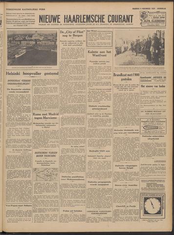 Nieuwe Haarlemsche Courant 1939-11-06