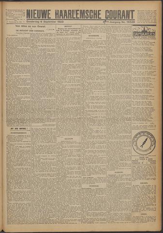 Nieuwe Haarlemsche Courant 1923-09-06