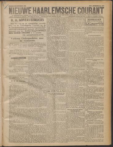 Nieuwe Haarlemsche Courant 1919-11-28