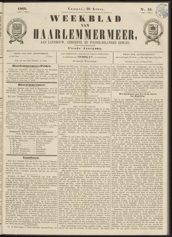 Weekblad van Haarlemmermeer 1869-04-16