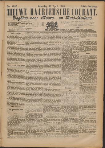 Nieuwe Haarlemsche Courant 1905-04-29