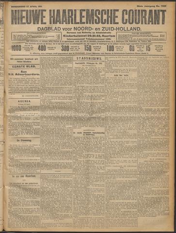 Nieuwe Haarlemsche Courant 1911-04-27