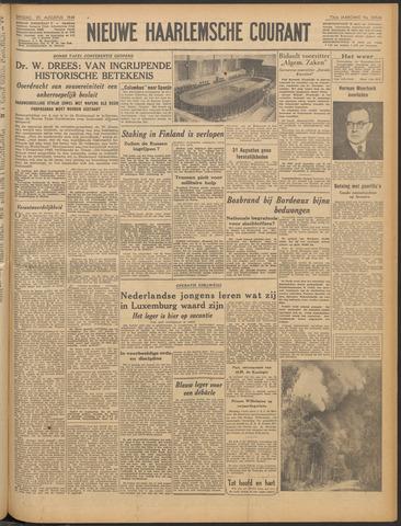 Nieuwe Haarlemsche Courant 1949-08-23