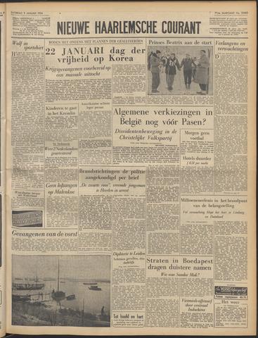 Nieuwe Haarlemsche Courant 1954-01-09