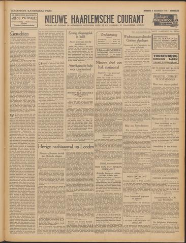 Nieuwe Haarlemsche Courant 1940-12-09