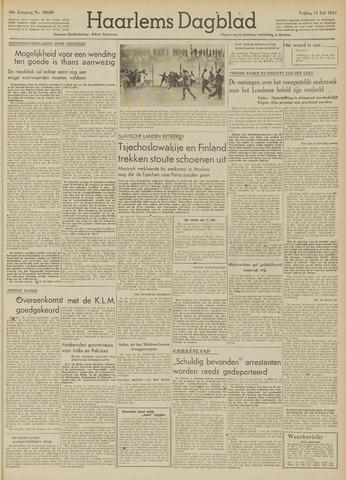 Haarlem's Dagblad 1947-07-11
