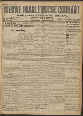 Nieuwe Haarlemsche Courant 1914-08-14