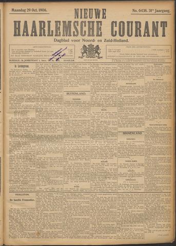 Nieuwe Haarlemsche Courant 1906-10-29